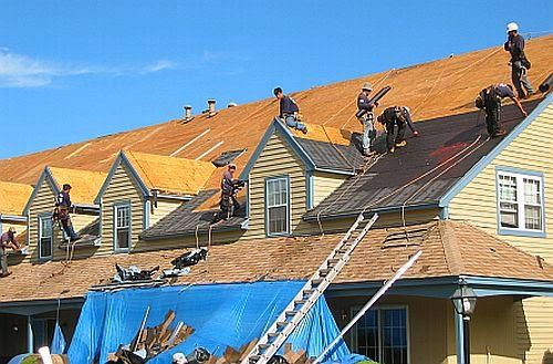 Our Roofing Specialists At Work Building a New Roof | Best General Contractor for Roofing in Los Angeles | High Class Builders
