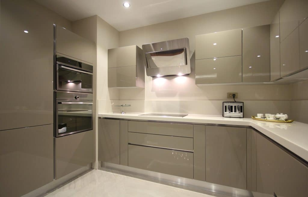 Modern ADU Kitchen Grey | Best General Contractor for Kitchens in Los Angeles | High Class Builders