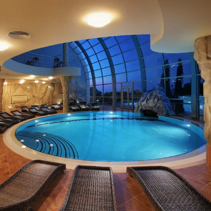 Huge Dome Interior Pool Spa | Best General Contractor for Pools in Los Angeles | High Class Builders